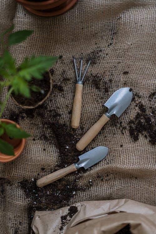 Herramientas manuales de jardineria y agricultura