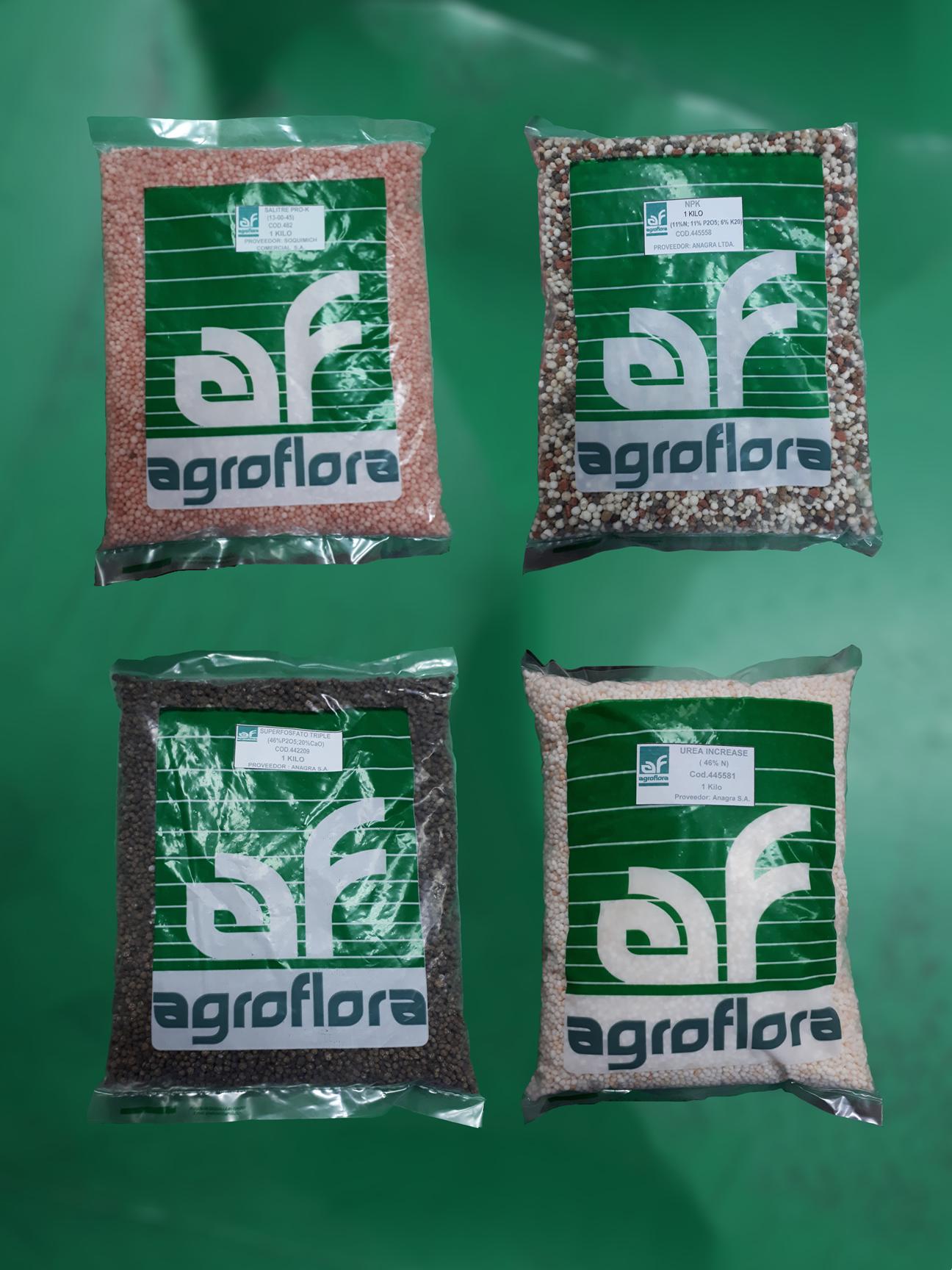 Venta de productos fertilizantes en la región del BioBio
